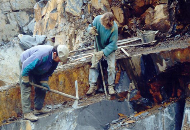 Reinício dos trabalhos em 1988